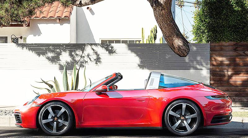 Nuevo Porsche 911 Targa: elegante, extravagante y único