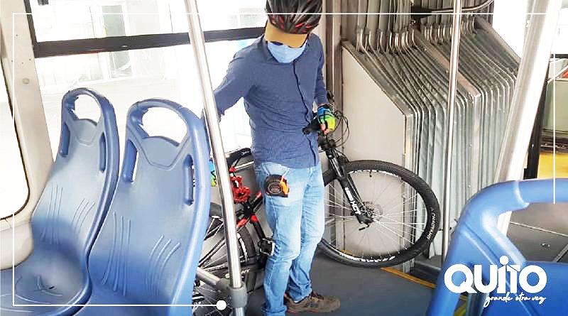 Transporte municipal estará habilitado para los ciclistas
