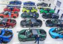 Homenaje para los últimos 18 BMW i8 fabricados en Leipzig