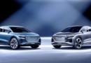 Gemelos técnicos de Audi Q4  e-tron concept: Clásico y Coupé