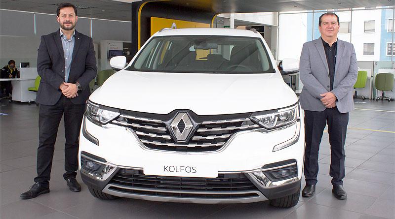 El Renault Koleos busca crear experiencias de primera clase