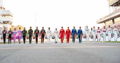 IMAGEN OFICIAL DE LA F1