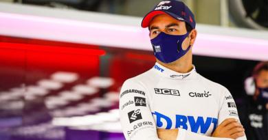F1: 'Checo' Pérez da positivo a Covid-19 y se pierde este fin de semana