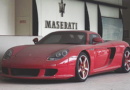 Un valioso Porsche Carrera GT está abandonado en China