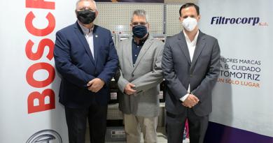 Filtrocorp inaugura primer punto de venta y firma alianza con Bosch