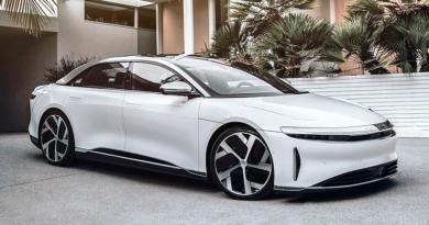 Lucid Air, con más de 1.000 HP, rival directo del Tesla Model S