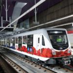 Por primera vez un tren del Metro de Quito llega a los 100 km/h