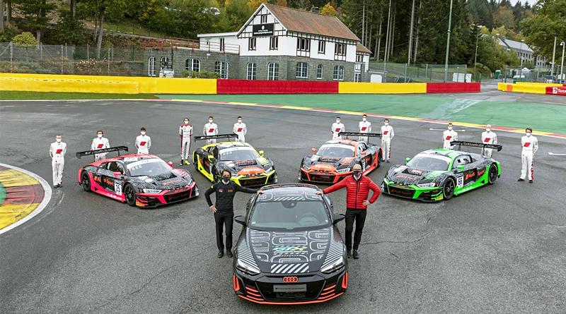 Audi R8 LMS y Audi RS e-tron GT prototype: presente y futuro