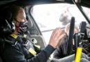 Valtteri Bottas hace pruebas de rally en sus días libres de la F1