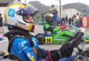 Leonidas Drouet Mora en el torneo provincial del Guayas 'IAME X30'