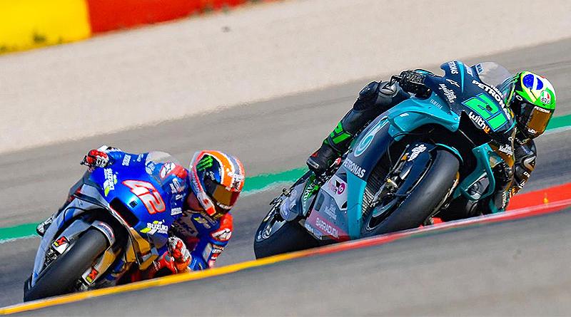 Morbidelli gana con Yamaha en MotorLand y Mir es más líder