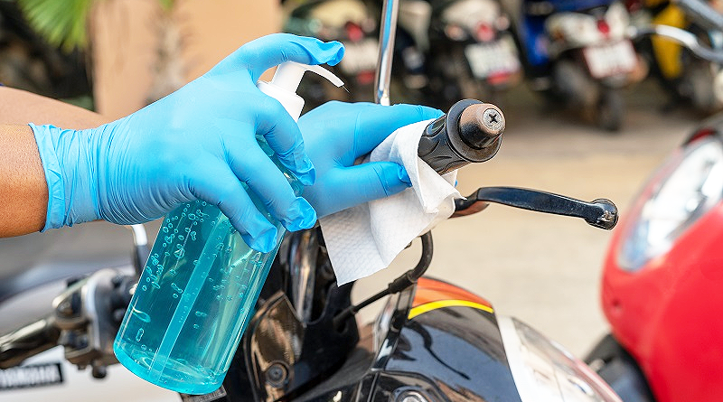 Lo que deberían hacer los motociclistas en época de Covid-19