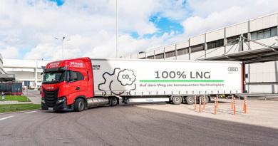 Planta de Audi sigue impulsando la logística sostenible