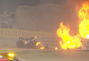 F1: Grosjean sufre impresionante accidente y Verstappen es 2do