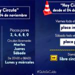 Nuevas reglas de movilidad en Quito desde hoy 4 de noviembre