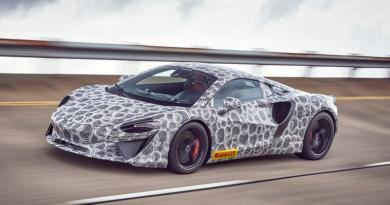 McLaren Artura, súper deportivo V6, híbrido enchufable