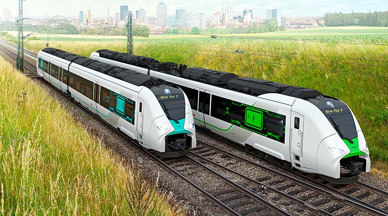 Mireo Plus H, el tren alemán con pilas de combustible de hidrógeno
