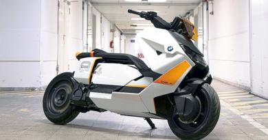 Nueva movilidad eléctrica urbana: scooter BMW Definition CE 04