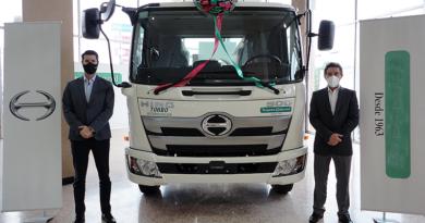 Presentados los nuevos camiones Hino FC y GD de la serie 500