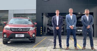GAC Motor abre en Ecuador siete nuevos concesionarios