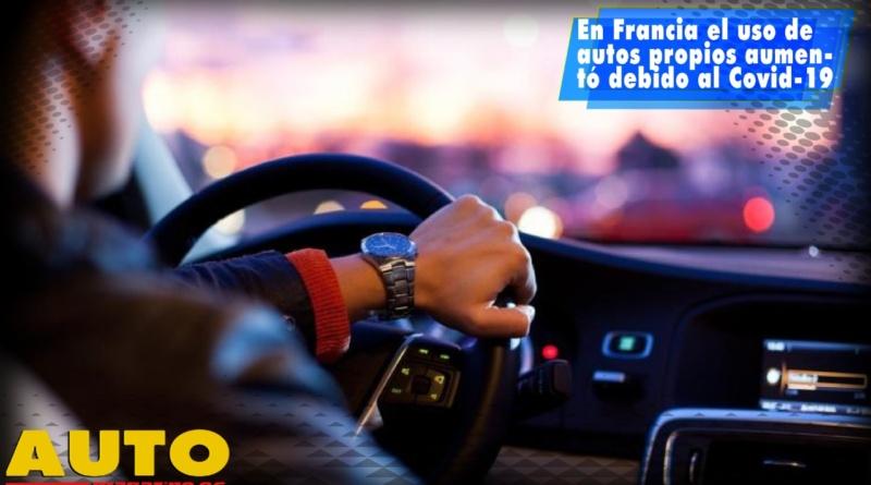 En Francia el uso de autos propios aumentó debido al Covid-19