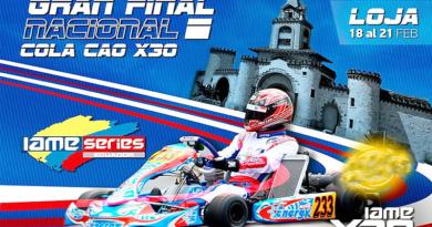 La final nacional del campeonato IAME X30 2020 será en Loja