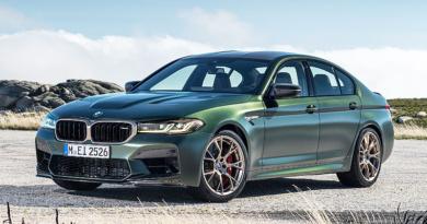 El nuevo BMW M5 CS, aún más deportivo y lujoso