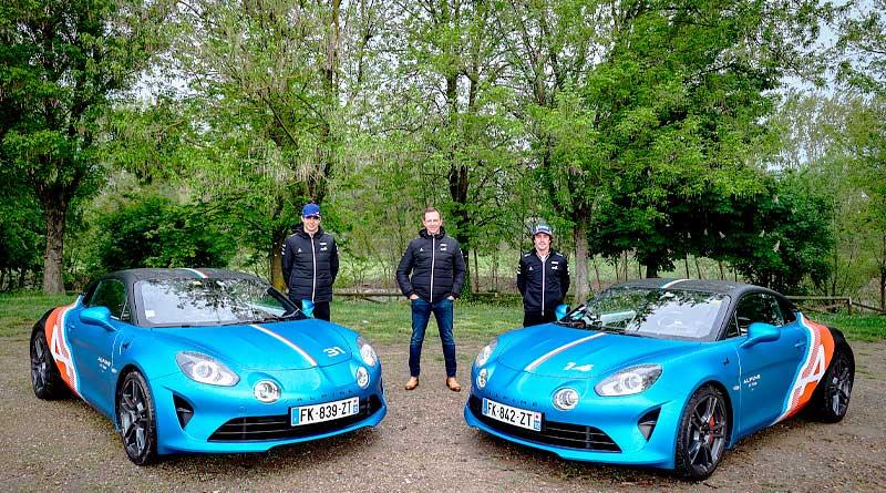 Los Alpine A100 para Alonso y Ocon debutan durante el GP de Europa