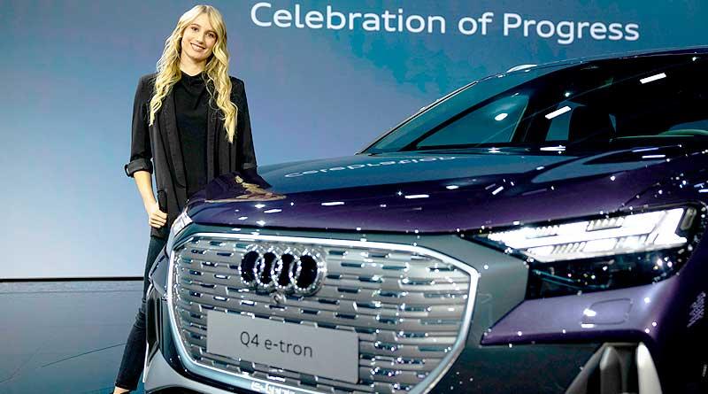 El electrizante estreno mundial en línea del Audi Q4e-tron