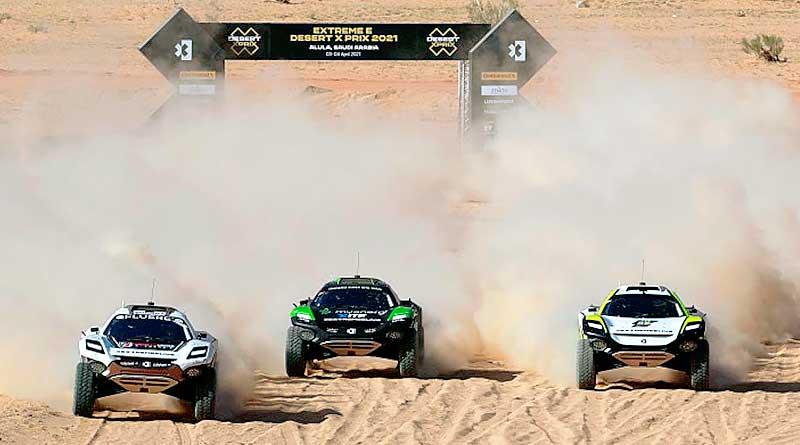 Rosberg X Racing hace historia como primer ganador de la Extreme E