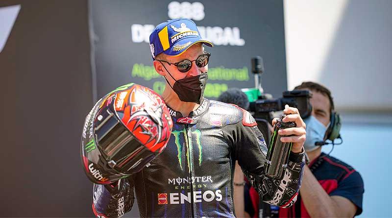 Fabio Quartararo gana en Portugal y es líder en MotoGP