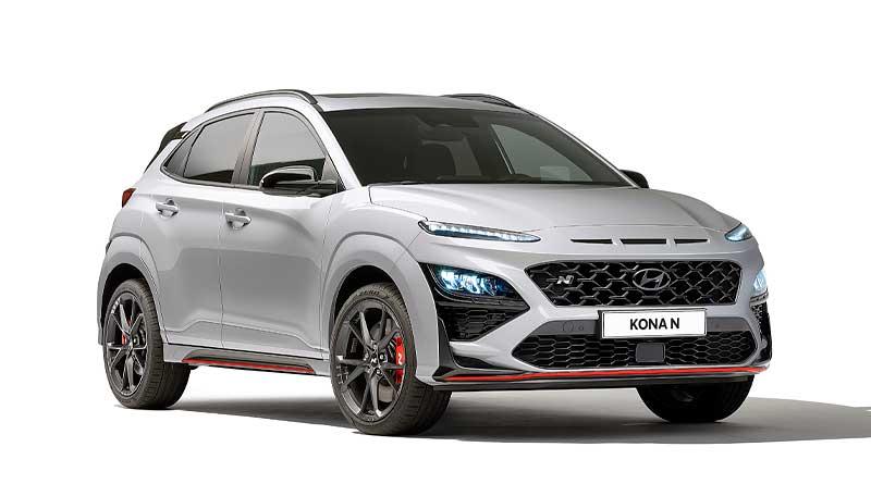 El totalmente nuevo SUV deportivo Hyundai KONA N