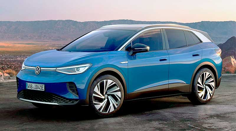 El Volkswagen ID.4 fue elegido como 'World Car of the Year 2021'