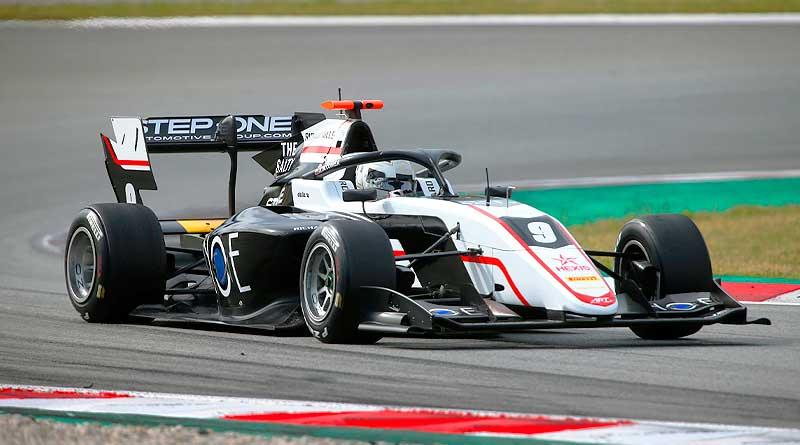 F3: Juan Manuel Correa termina décimo en los test de Barcelona