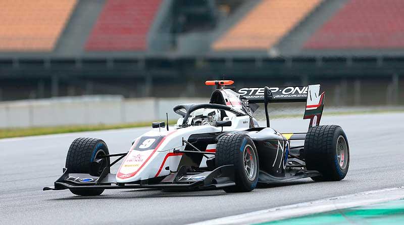 F3: Juan Manuel Correa tras su primer día de test en Barcelona