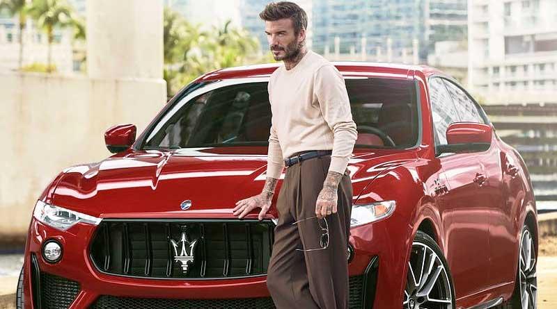 Maserati y David Beckham: dos del mismo tipo