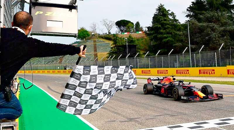 Victoria de Verstappen en un Gran Premio lleno de acción en Imola