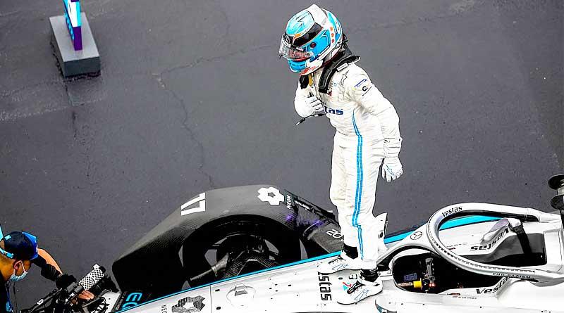 Nyck de Vries ganó una excéntrica carrera en el E-Prix de Valencia