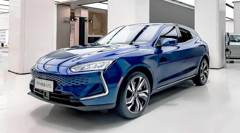 Huawei incursiona en el mundo automotriz y presenta su primer auto