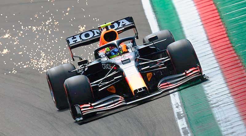 F1: Pérez sale segundo por delante de Verstappen. Hamilton se lleva la pole