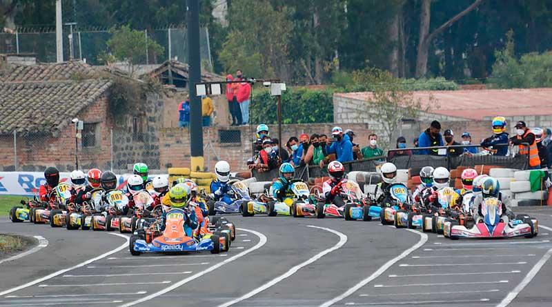Resultados de la Quinta Válida 'Rok Cup Ecuador 2021' de karting