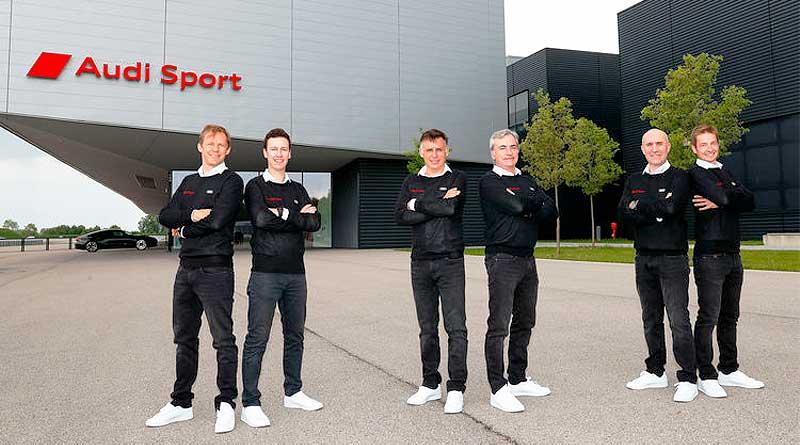 Audi arma un «Dream Team» para su estreno en el Rally Dakar