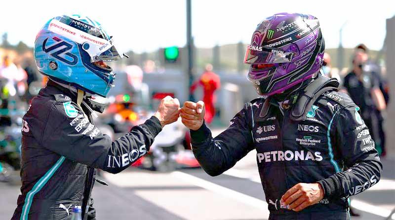 Bottas le niega a Hamilton su pole número 100 en Fórmula 1