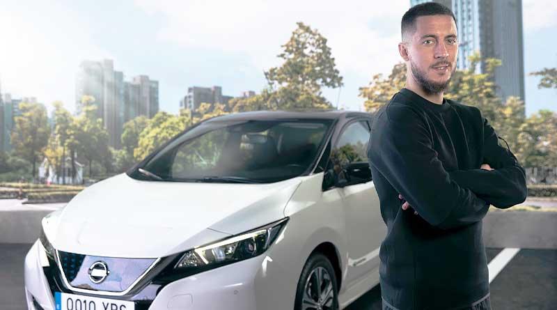Eden Hazard impulsa cambio positivo hacia la movilidad eléctrica