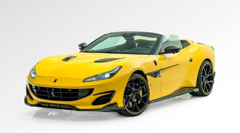 Nuevo 'Ferrari Portofino' de Mansory,  con techo retráctil de carbono