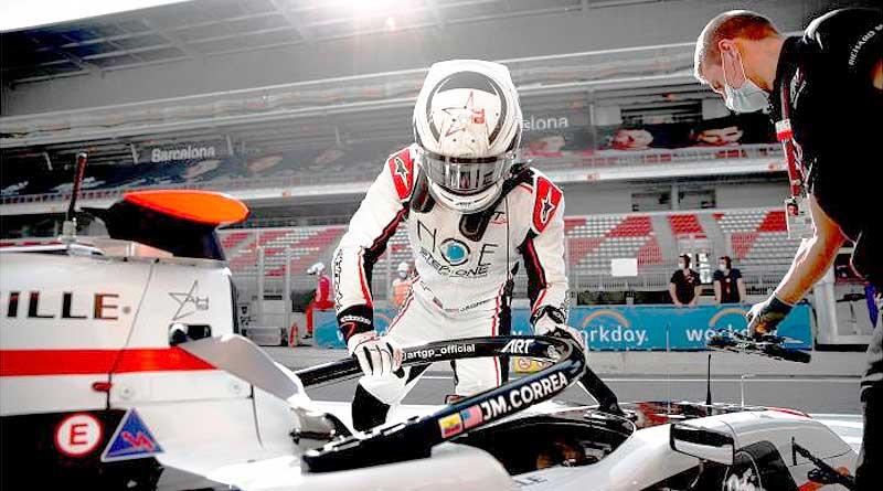 Juan Manuel Correa fue 12do en primer día de pruebas en Jerez
