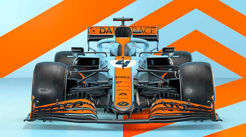 McLaren rendirá tributo a Gulf con una librea retro en Mónaco