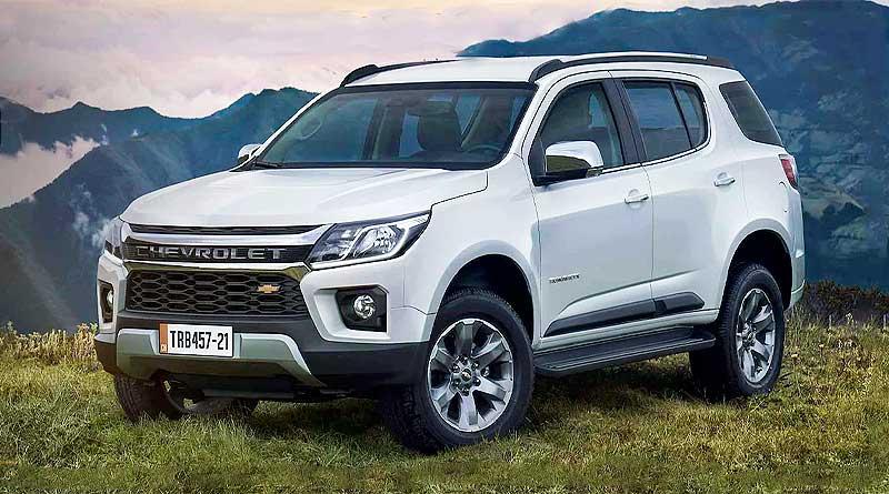 Chevrolet presentó para Ecuador la nueva Trailblazer