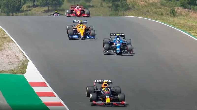 F1: Interesante carrera en Portugal pese al 'retorno' de Lewis