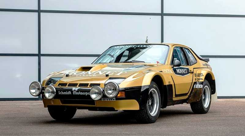 Walter Röhrl y el Porsche 924 Carrera GTS Rally se reencuentran a 40 años